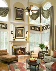 118 Best Two Story Drapery Ideas Images Drapery Designs
