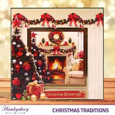 Christmas Traditions - Hunkydory | Hunkydory Crafts