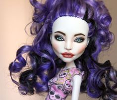 """Angelina"" a Monster High Spectra Vondergeist Repaint #Dolls"