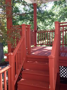 Solid deck staining by J&H Painting