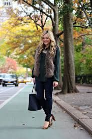 Image result for outfit with fur vest