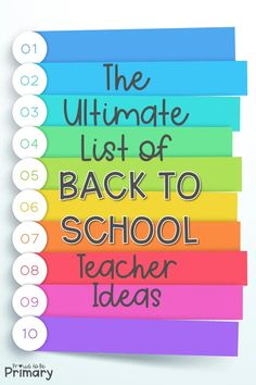 30 back to school teacher ideas for the classroom. Plan your first days with engaging activities for kids, community building ideas, classroom management tricks, organizational tips, and more! #backtoschool #b2s #teachertips #classroommanagement #classroomorganization #communitybuilding #firstweekofschool School Supplies For Teachers, First Year Teachers, Back To School Teacher, Beginning Of School, New Teachers, Cooperative Learning Activities, Teaching Activities, Classroom Activities, Teaching Ideas