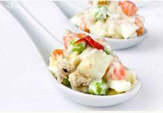 Salade russe (Ensaladilla Rusa) - recette espagnole de tapas sur Gourmetpedia