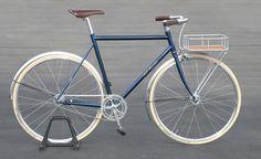 Felt's York: Englishman in New York. Bici Retro, Velo Retro, Velo Vintage, Retro Bicycle, Vintage Bicycles, Classic Road Bike, Classic Bikes, Velo Design, Urban Bike