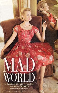 "Betty Draper  ""Only Boring People are Bored ""  Mad Men"