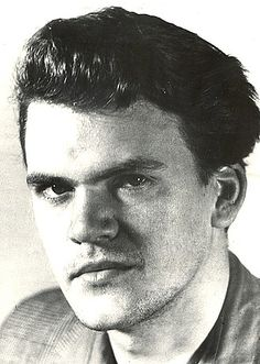 Portrait of Milan Kundera as a young artist