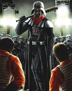 Darth Vader Is Negan In Epic The Walking Dead/Star Wars Crossover Photo From Greg Nicotero