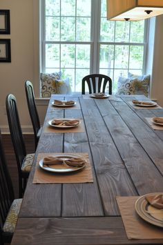 Farmhouse Table Remix {How to Build a Farmhouse Table} - East Coast Creative Blog