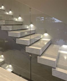 Precast Terrazzo Stair Treads Can Be Set On Steel Stairs