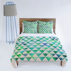 Buy Duvet Cover with Floral Flowww Mint designed by Bianca Green. One of many amazing home décor accessories items available at Deny Designs. Green Duvet Covers, Pretty Bedroom, Awesome Bedrooms, Home Decor Accessories, My Room, Home Kitchens, Bedroom Decor, Bedroom Ideas, Home Goods