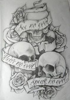 Maaaaybe tattoo. I'd rather have bandanas covering the ears mouth and eyes