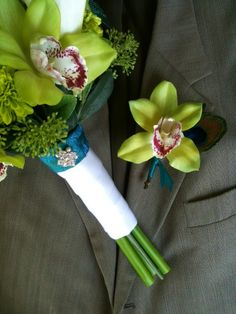 Boutonniere boquet lovely idea