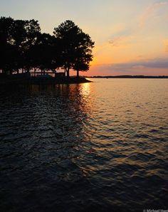 08/2011 Sunset at Lake Norman
