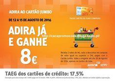 Promoções Jumbo - 8,00€ desconto - 12 a 15 agosto - http://parapoupar.com/promocoes-jumbo-800e-desconto-12-a-15-agosto/