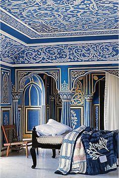 Blue & White - Bedroom