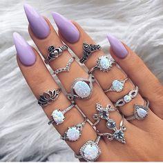 Nails por:@indigo_lune
