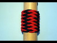 How to tie a Paracord Stripes Turk's Head Knot (13L8B) - YouTube