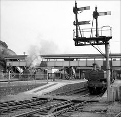 Steam Railway, British Rail, Funny Video Memes, Steam Engine, Steam Locomotive, Train Tracks, South Wales, Welsh, Roads