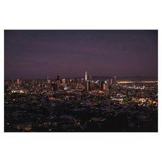 by fjharr / Frederick: last light for north america.  location: San Francisco, California. date: 1517337304