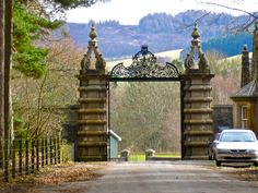Entrance to Blair Castle