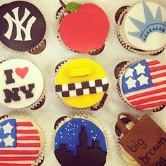 new york themed cupcakes jelyssanne.com