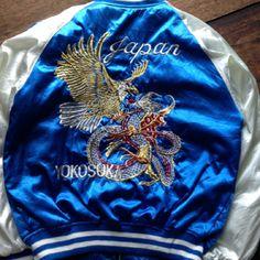 Vintage Yokosuka Sukajan Jacket Size S VGC Almost New  Price : 125$ shipped  Wa : +62-82261680430