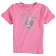 MLB Detroit Tigers Girl's Infant Autograph T-Shirt