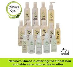 #Nature's_Quest products contain pure essential oils and the finest plant derived ingredients. Nature's Quest's products for hair and skin care offer a moment of natural luxury for your body and have been specially formulated keeping your family at mind.