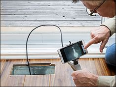 General® Wi-Fi Borescope - Woodworking