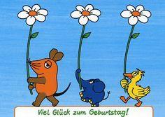 Die sendung mit der Maus / one of my favorite things to watch when I was a child.