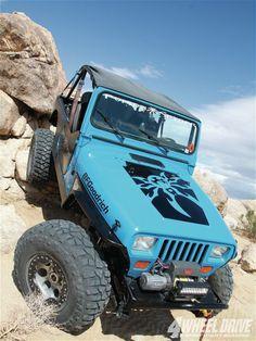 Poison Spyder - 1993 Jeep Yj Wrangler