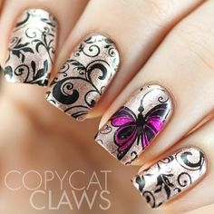 30 Minute Stamping Mani (Copycat Claws)