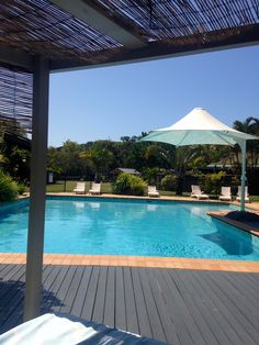 View from one of our poolside daybeds at Quality Hotel Ballina. Quality Hotel, Daybeds, Beach Resorts, Spa, Outdoor Decor, Image, Bed Couch, Day Bed, Sleeper Sofas