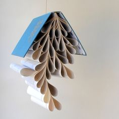 an adorable, unusual mobile. This one wouldn't be gender specific, but I would be able to make it go with the fairy tales theme..