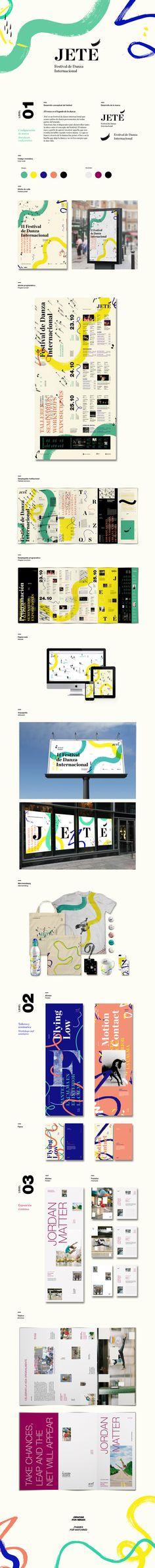 JETÉ International Dance Festival on Behance