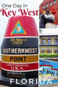 Things to do in One Day in Key West, Florida with kids | One day itinerary for Key West