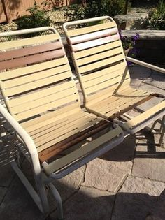 Alternative Replacement For Plastic Strapping For Chairs