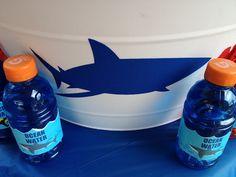 "shark party - Gatorade ""ocean water"""