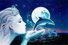 Lei è la Regina dell'acqua