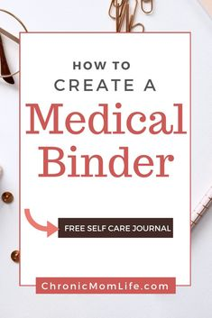 How to create a medical binder spoonie specialneeds chronicillness 90142430028000599 Chronic Illness, Chronic Pain, Fibromyalgia, Emergency Binder, Family Emergency, Special Needs, Weight Loss Plans, Ways To Lose Weight, Health And Wellness
