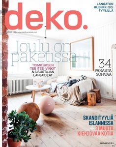 DEKO'S PRINT MAGAZINE 12 13 OUT NOW!
