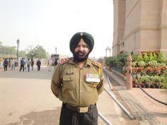 Custodia de la Puerta de la India en Nueva Delhi