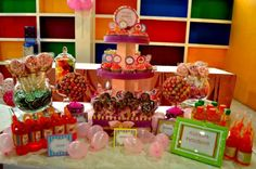 Candy Themed Balloons Athena Miel's