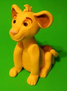 Simba, Lion King cake topper https://www.etsy.com/shop/PfisherDesign