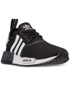 Adidas Originals Kids' Adidas Big Boys' Nmd Casual Sneakers From Finish Line In Black Tennis Shoes Outfit, Kid Shoes, Shoe Boots, Outfit Jeans, Casual Loafers, Casual Sneakers, Sneakers Fashion, Adidas Shoes Women, Black Adidas Shoes