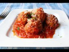 Meatless Meatballs! Vegetarian Garlic & Mushroom Meatballs - YouTube