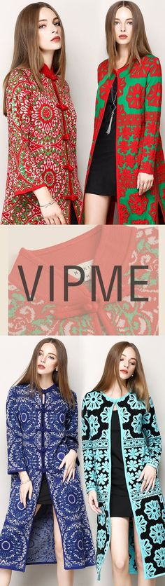 At VIPme, we turn runway fashion trends into affordable pieces you can add to your wardrobe. Search through Bohemian, cute or solid color cardigans to find the perfect outerwear for any occasion. Show off your VIP style in luxe fabrics with free shipping now. ❤❤ FREE DHL SHIPPING on orders $99+ from PST Jan 13th to 19th ❤❤