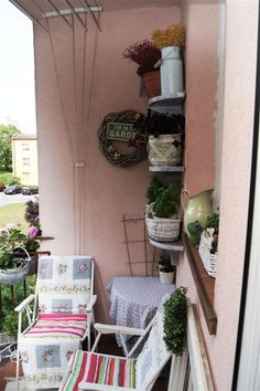 my shabby my dream      : Balkon cz.2