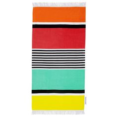 SUNNYLIFE || Luxe Colorful Abstract Print Geometric Pattern Summer Beach Pool Towel - Avalon
