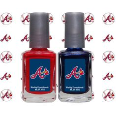 Show everyone you're no fair weather fan with this special of nail polish. The nail polish comes in two bottles and is perfect for putting your Minnesota Twins pride on full display no matter where you go. Each bottle of nail polish features Chicago White Sox, Boston Red Sox, Indian Nails, Grey Acrylic Nails, Cleveland Indians Baseball, Braves Baseball, Minnesota Twins, St Louis Cardinals, Nail Decals